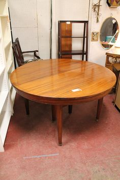 SOLD $795 for the set vintage antique set of 6 mahogany dining