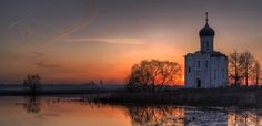 By Silent Candle - Church of the Intercession of the Holy Virgin on the Nerl River, Russia - Pixdaus