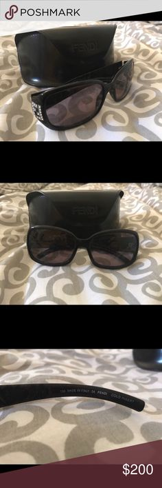 Women's Fendi sunglasses Since I got them 4 years ago from my eye dr they have just have been sitting in my room. Haven't been used. Fendi Accessories Sunglasses