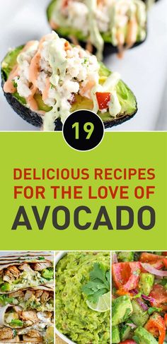 Do you love the heavenly taste of avocado? Then you might be trying to add it to everything you eat. Drop everything and take a look at these amazing recipes with avocado, you'll fall in love with them.