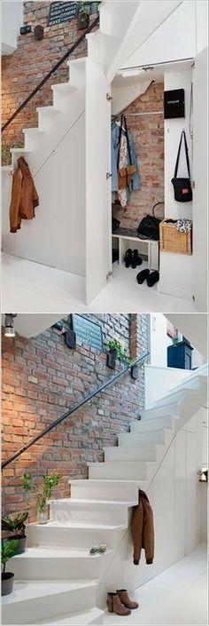 Decoration Ideas Under Stairs