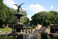 Bethesda Fountain and Terrace, Central Park