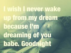 While she sleeping