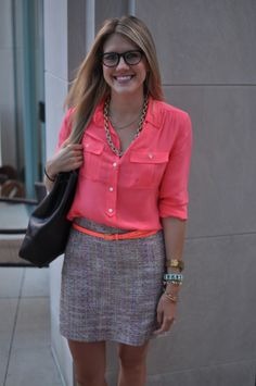 the dreamer and the doer: Our Take On - J.Crew Tweed Skirt