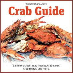 Summer is here, and that means crab season. The folks at Baltimore Magazine put together a great guide to the best crab houses, making the best crab dishes, and more: http://bmag.co/crabguide