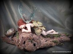 Handmade one-of-a-kind polymer clay fairy by Mermaids Dreaming  www.facebook.com/mermaidsdreaming