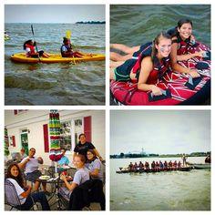 Splish-splash! What a fun river orientation weekend!! #rivah #rappahannock #kayak #tubing #fishing #sisters