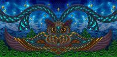 Owl Eyes by Phil Lewis (www.phillewisart.com)