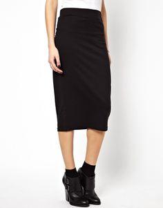 Image 4 ofNoisy May Midi Pencil Skirt