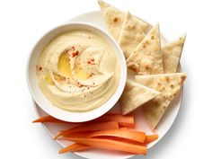 Homemade Hummus recipe from Food Network Kitchen via Food Network