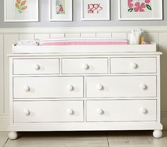 Catalina Extra Wide Dresser & Topper Set | Pottery Barn Kids