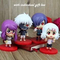 Aliexpress.com : Buy Funko POP PVC Anime Ken Kaneki Tokyo Ghoul Action Figure Yomorenji/Rize Kamishiro Kirishima Toka Model Toy Gift Collections from Reliable gift wrap this order suppliers on  Domcc Import & Export Co., Ltd  | Alibaba Group