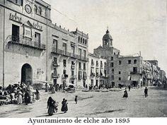 Ayuntamiento de Elche (Alicante).
