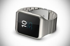 b1bfd968dee Sony Smartwatch 3 Stainless Steel Edition Android Wear Smartwatch