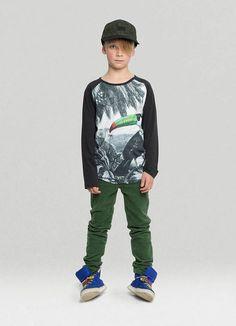 Size 4 Toddler Boys Slick Sweatshirt Black Munster Kids Munster