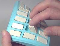 Hirst Arts - cast your own miniature bricks into these molds and create your own table top medieval castles, pyramids, and space age worlds