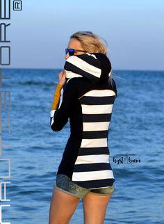 BLOCKSTREIFEN - Nautistore Diy Fashion, Fashion Brand, Womens Fashion, Sewing Clothes, Diy Clothes, Hoodie Pattern, Baby Sewing, Betta, Refashion