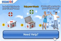 Do you need Help? No problem! Find out how to best use the #SmeetHelps. | #3Dgames #virtualworlds #SL