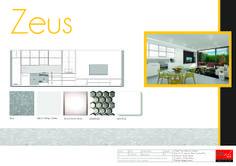 Project: Zeus Alpha & Omega Glebe (apartments sold off the plan) Kitchen design  (includes computer generated image)