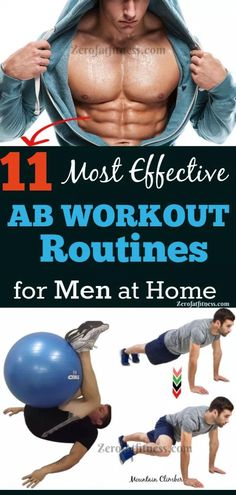 11 Most Effective Ab Workout Routines for Men at Home to Get Six Pack. Push Up. Swiss-Ball Roll-Out. Workout Routine For Men, Six Pack Abs Workout, Home Exercise Routines, Workout Plans, Most Effective Ab Workouts, Fun Workouts, At Home Workouts, Fitness Workouts, Fitness Motivation