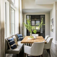 3 Astounding Cool Tips: Rustic Dining Furniture Legs outdoor dining furniture awesome.Dining Furniture Modern Breakfast Nooks dining furniture ideas home decor. Dining Nook, Dining Room Lighting, Dining Room Chairs, Kitchen Dining, Dining Table, Small Dining Rooms, Dining Room Bench Seating, Island Kitchen, Dining Sets