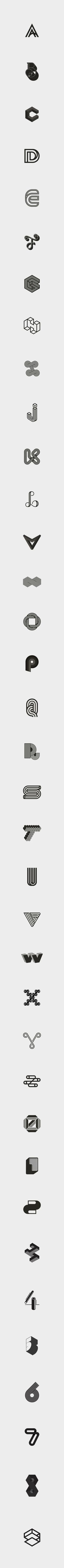 #36daysoftype on Behance