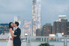 Tribeca Rooftop Wedding in NYC   Christina & Nick