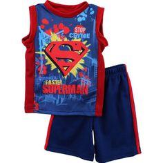 "Superman ""Stop Crime"" Blue 2-Pc Kids Tank Top & Shorts Set (5) DC Comics http://www.amazon.com/dp/B00CKQPX04/ref=cm_sw_r_pi_dp_T3XJtb1Q2X4BPZ13"