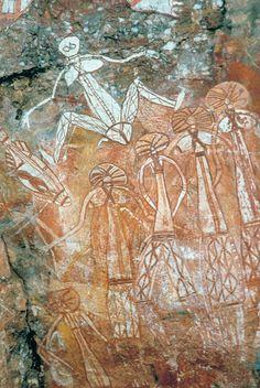 RADIO Live Earth: The Wandjinas, pinturas rupestres misteriosas da Austrália