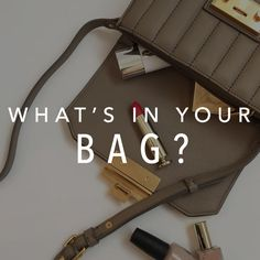 Board Cover: What's in Your Bag What's In Your Bag, You Bag, Fashion Handbags, World Of Fashion, Suitcase, Cover, Board, Briefcase, Planks