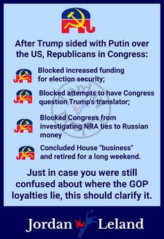Gop Party, Republican Party, Russian Money, Current President, Reality Check, Long Weekend, Investigations, Inspire Me, Bullying