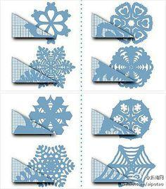 剪紙---雪花