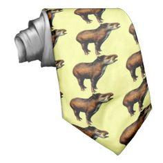 tapir neck ties