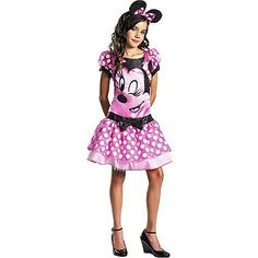 Teen Girls Pink Minnie Mouse Costume by Disguise. $33.38. Teen Costume Size 7-9. Pink Clubhouse Minnie Mouse Teen Costume. Item Sizing: The size guide found below is specific to the costume in this listing. Other costumes may have different sizing patterns. For example, company A's size medium may be equivalent to company B's size large. Be sure to check the size chart closely to make sure you know what you are ordering. The list below may indicate that more than one size fi...