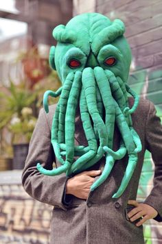 The amount of mask tutorials contained in this link is overwhelming. The pictured Cthulu is included.