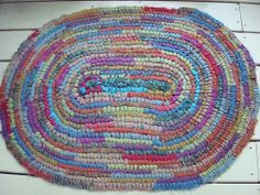Toothbrush Rug - love the colours
