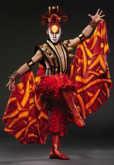 cirque du soleil characters - Google Search