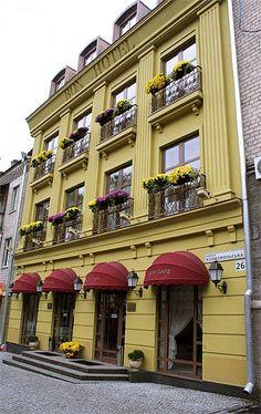 boutique hotel facades - Google Search