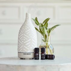 diffuser with essential oils for wellness, aromatherapy and spa detail Candle Diffuser, Oil Diffuser, Aromatherapy Diffuser, Saje Oils, Jillian Harris, Stone Carving, Hand Carved, Essential Oils, Product Launch