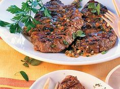 This German pork steak is marinated for at least 24 hours and grilled over a wood fire. It was developed in Saarland, southwest Germany. Recipe: germanfood.about.com Photo: www.kuechengoetter.de