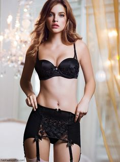 Barbara Palvin for Victoria's Secret lingerie