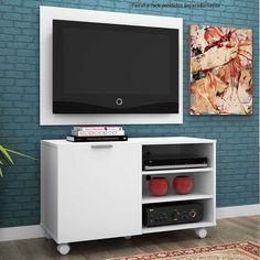 Quem disse que móveis pequenos não podem ter charme? Os racks pequenos ajudam a dar um charme maravilhoso para a sua sala de estar.