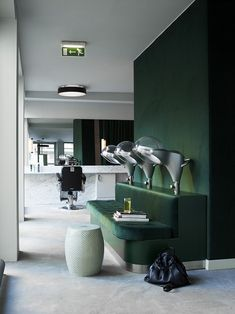 The Cool Hunter - INCH Hair Salon and Spa, Oslo, Norway great green