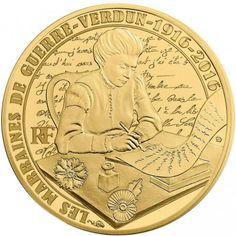 50 Euro Gold Verdun PP