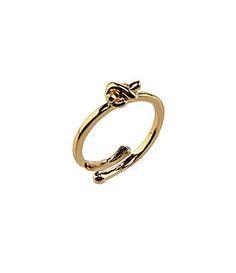 kate spade new york Sailors Knot Adjustable Ring #Dillards