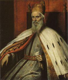 Palma Giovane, 1548/50 – October 14, 1628 - Portrait of Doge Marcantonio Memmo - date of painting c. 1612-15