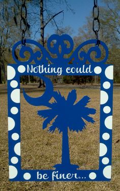 Palmetto Moon Garden Flag by atmiles on Etsy, $35.00