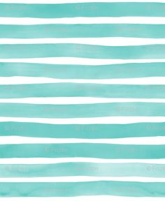 Watercolor Stripes M+M Aqua by Friztin custom wallpaper by friztin for sale on Spoonflower Teal Wallpaper Background, Mint Wallpaper, Turquoise Wallpaper, Nautical Wallpaper, Watercolor Wallpaper Iphone, Framed Wallpaper, Striped Wallpaper, Wallpaper Iphone Cute, Wallpaper Backgrounds