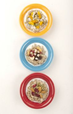variations for hot cereal