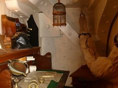 Officer's cabin- USS Constitution